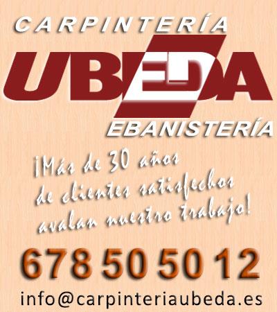 Carpintería de madera y ebanistería Úbeda en Almería