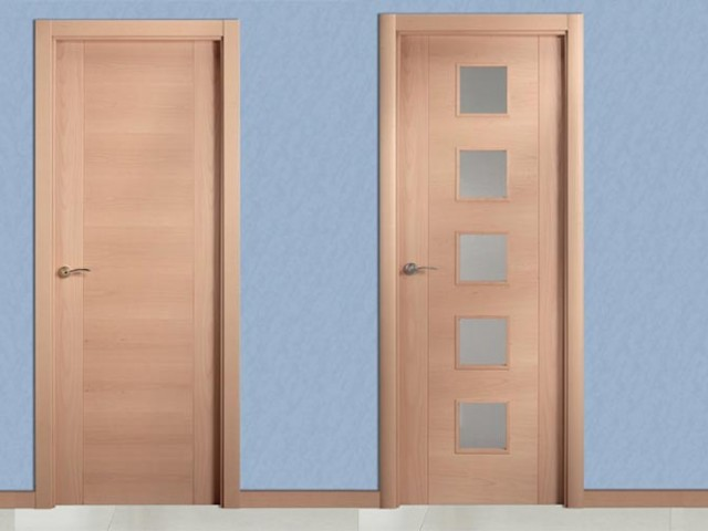 Colección puertas de madera – línea actual