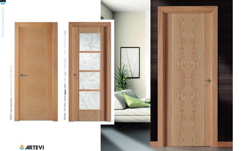Puertas decoradas con marqueter a carpinter a de madera - Puertas de madera decoradas ...