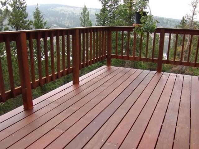 Fabricantes de barandas de madera de alta calidad