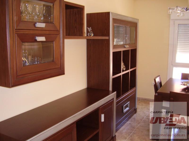 Sal n comedor realizado a medida - Muebles de madera a medida ...